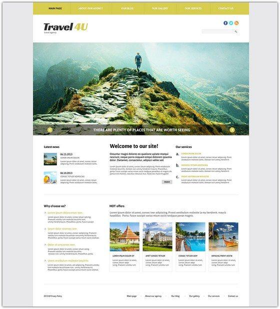 Travel Bureau Joomla Template