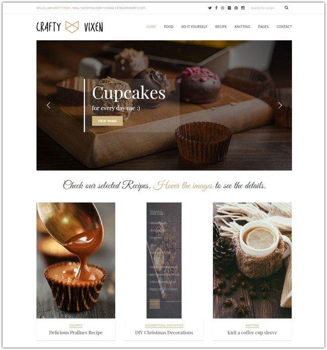 Vixen - Responsive WordPress Blog
