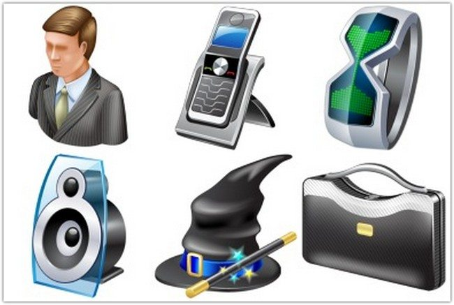 Windows 7 General Icons by Iconshock