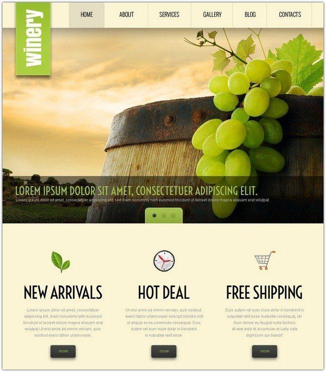 Winery WP Theme