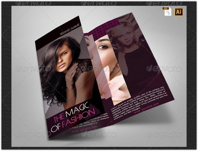 Women Fashion Brochure