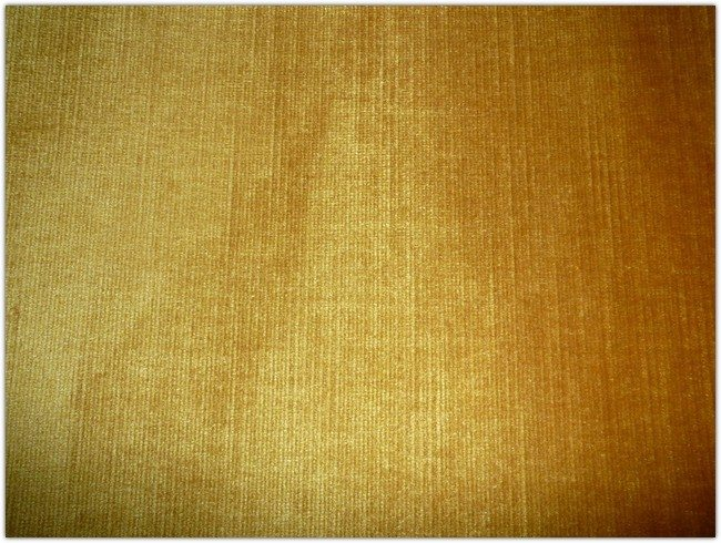 Yellow Velvet Fabric Texture
