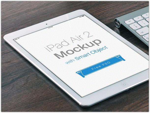 iPad Air 2 Mockup Free