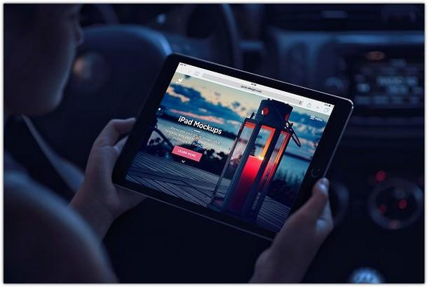 iPad Mock-Ups