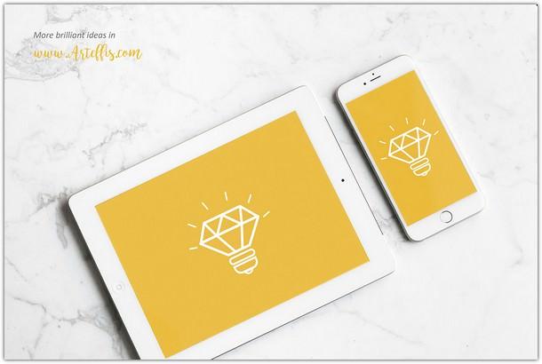 iPhone & iPad Mockup Free