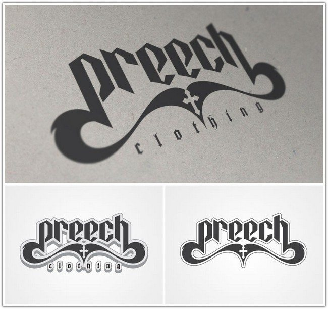 preech clothing - logo