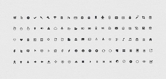 106 Pixel Perfect Icons