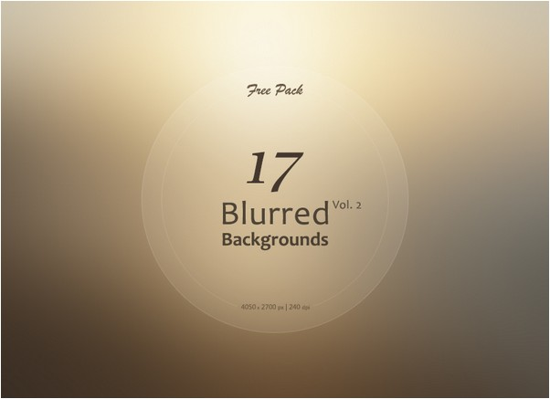 17 Blurred Backgrounds Vol.2