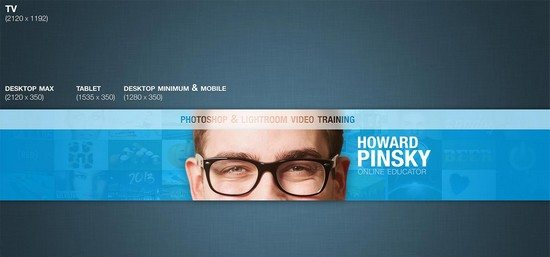 2013 YouTube Channel Layout PSD
