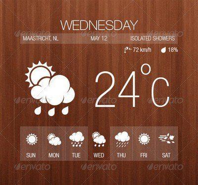 27 Weather Icons