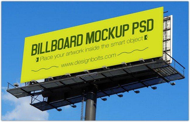 3 Outdoor Advertising Billboard