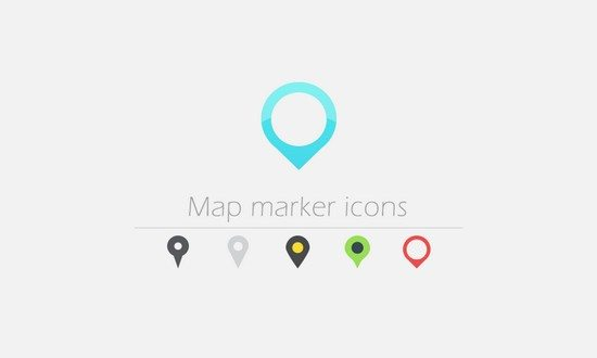 30 Map Marker Vector Icons