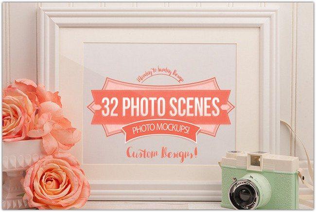 32 Photo Frames