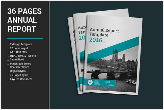 36 Pages Annual Report