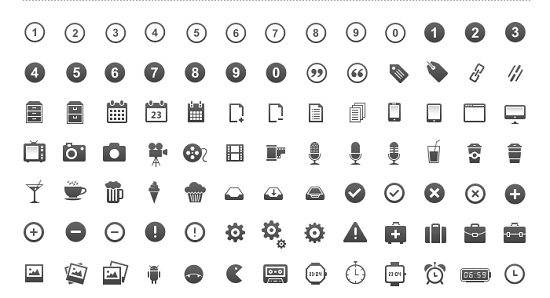 3650 Pixel Perfect Icons