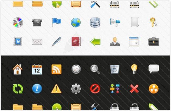 40+ Sweet Web Icons