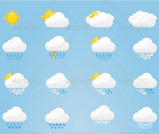 40 Weather Icons