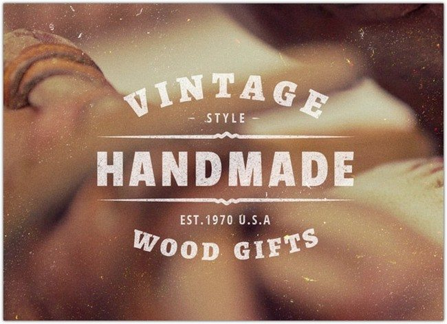 5 Vintage Labels Insignias Vol.1