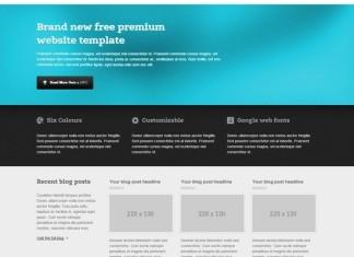 Premium CSS Template