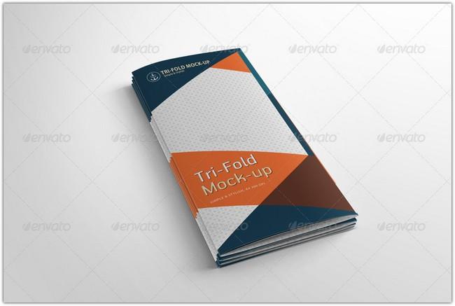 9 Tri-Fold Brochure Mock-up