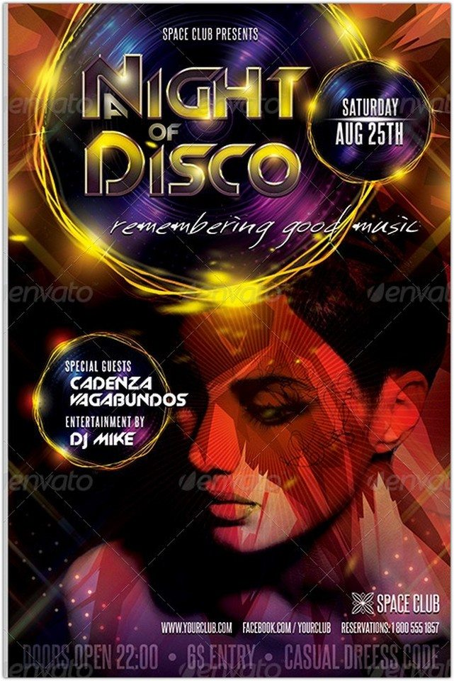 23 best disco flyer templates free psd ai eps pdf word