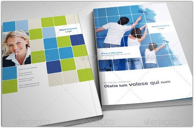 A4 Professional Corporate Brochure