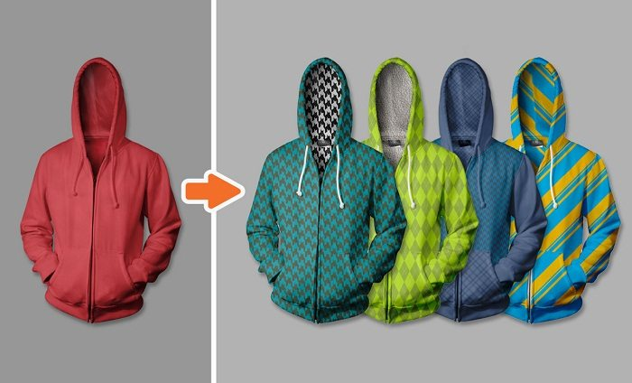 ADVANCED HOODIE MOCKUP TEMPLATES PACK