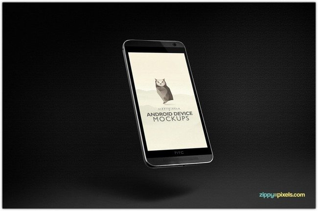 ANDROID MOCKUPS – HTC ONE M8
