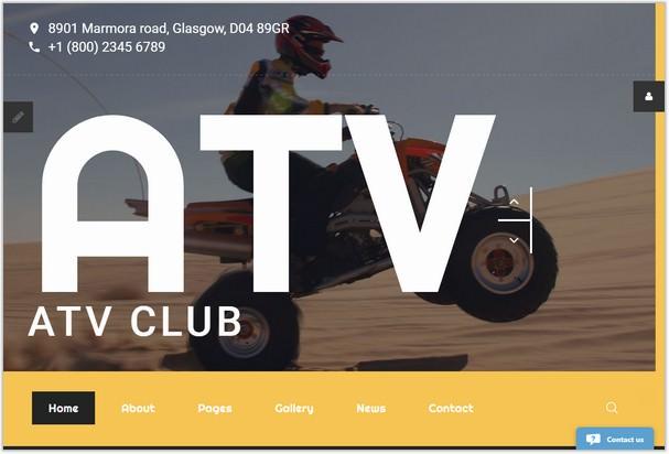 ATV Club Free PHP