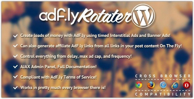 AdFly Rotater For WordPress