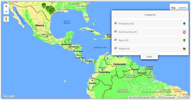 Advanced Google Maps Plugin for WordPress