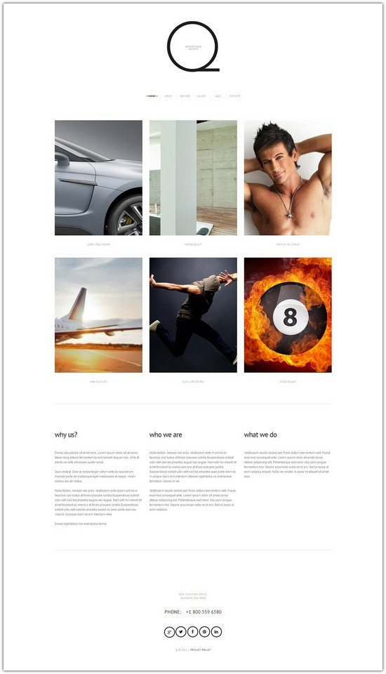 Advertizing WordPress Theme