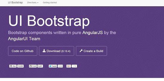 Angular ui Bootstrap