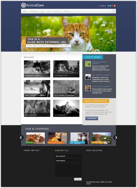 Animal Care – Premium WordPress Theme