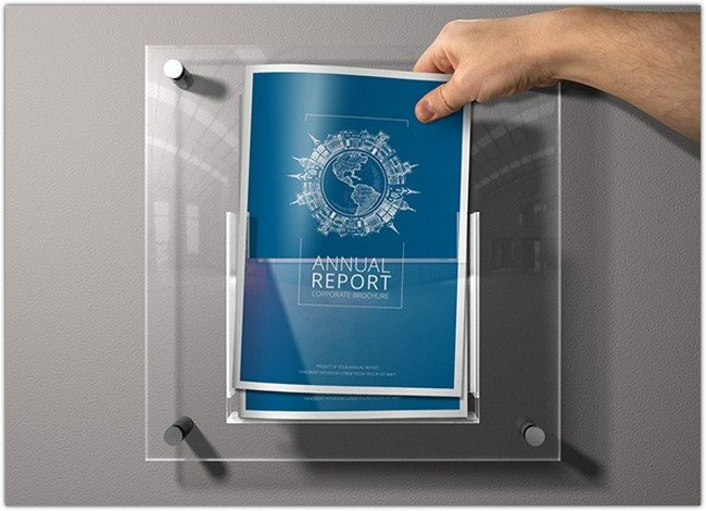 Annual Report Flat Style