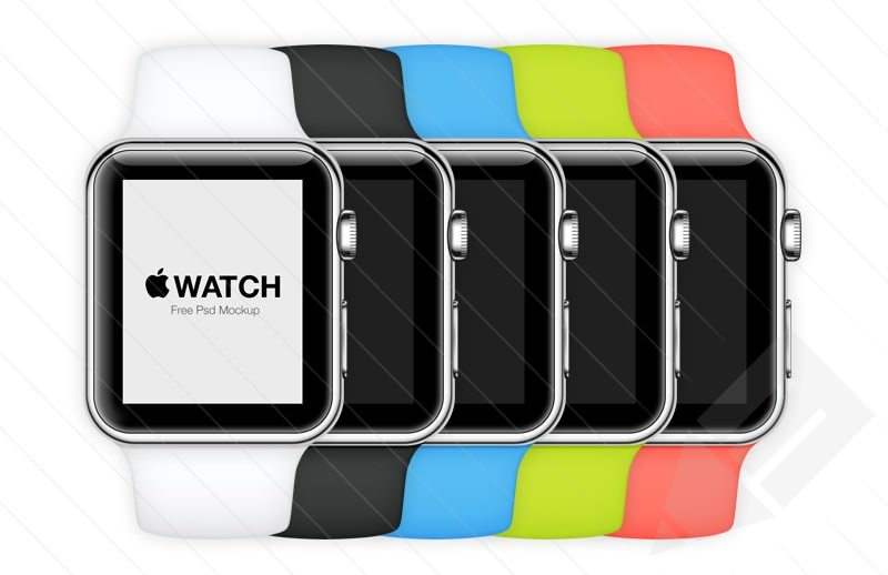 Apple Watch – Free Psd Mockup