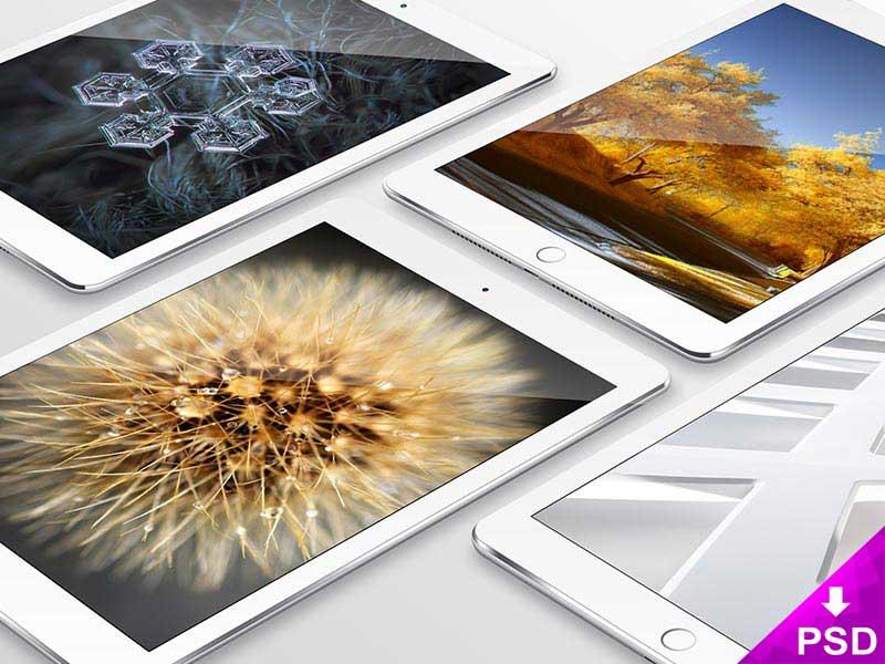 Apple iPad Mockup