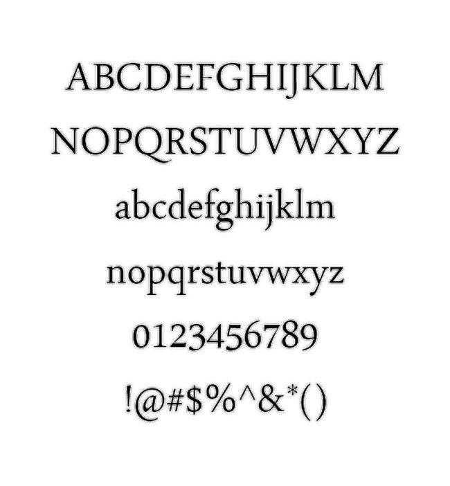 Arabic Typesetting Font
