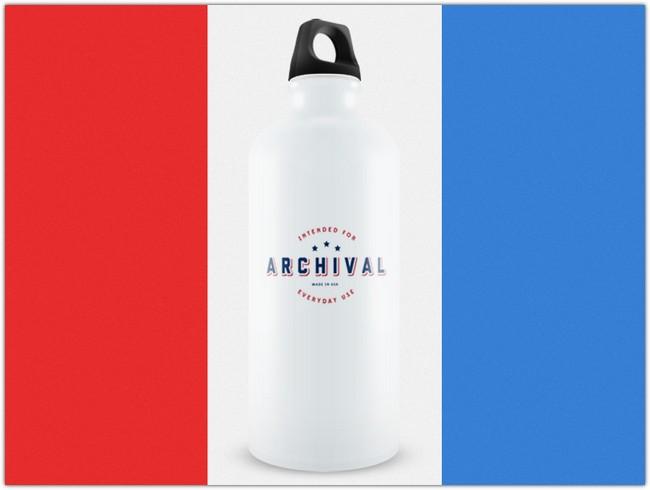 Archival Water Bottle