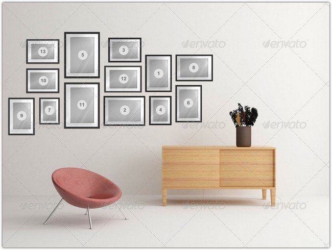 Art Wall Mock-Up Vol.2