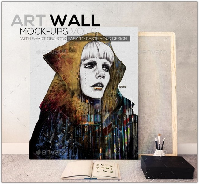 Art Wall Mockups Vol 6