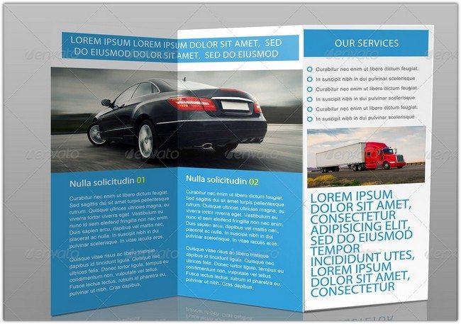 Auto Company Tri-Fold Brochure