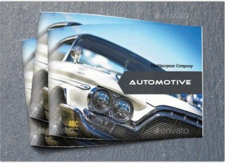 Car Brochures Template