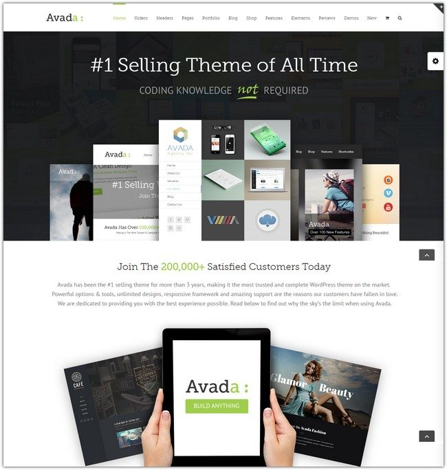 Avada Responsive Multi-Purpose Theme