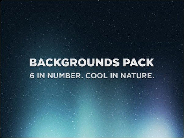 Backgrounds Pack 6 In One