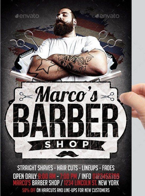barbershop flyer 300dpi