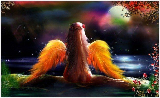 Beautiful Lonely Fantasy Fairy