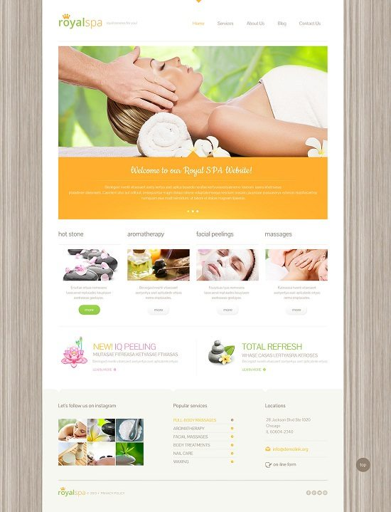 Beauty Responsive WordPress Theme