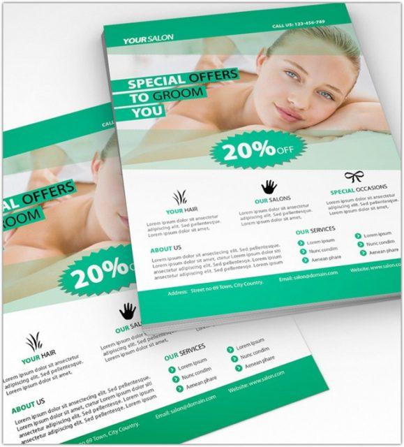 Beauty Salon Flyer # 2