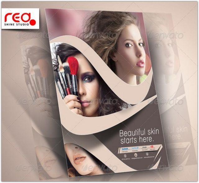 Beauty Salon Flyer Template # 2